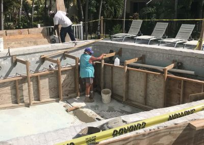 Poolside Construction