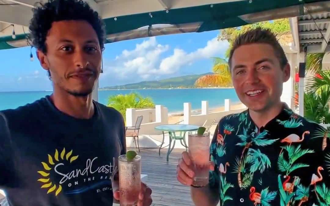 Making a Perfect Tropical Drink with Jesse Daley