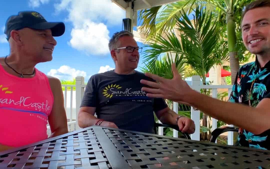 An interview with owners Chris and Ted